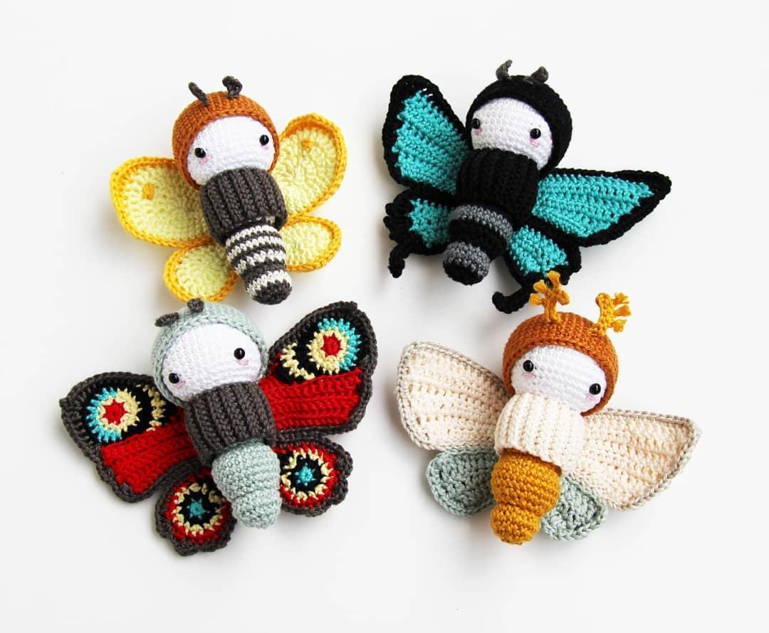 Crochet Butterfly Free Pattern | Beautiful Crochet Stuff | 890x1080