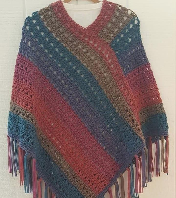 Easy Modern Four Season Free Crochet Shawl Pattern Images For 2019