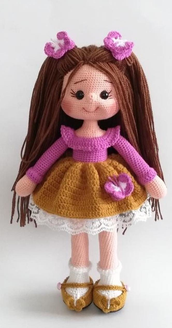 35+ Beautiful Amigurumi Doll Crochet Pattern Ideas and Images Part ... | 1267x664