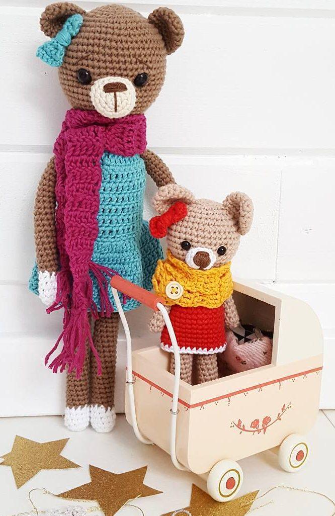 Amigurumi Pacifier Baby Doll Crochet Free Patterns - Crochet ... | 1026x666
