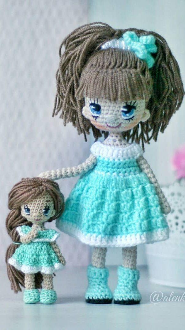 56+ Cute and Amazing Amigurumi Doll Crochet Pattern Ideas ... | 1080x604