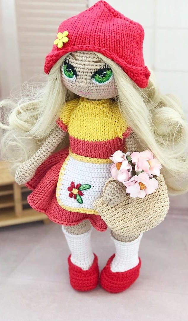 Fashion Doll - Free Crochet Pattern · The Magic Loop | 1080x634
